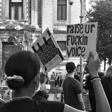 """""""Raise Ur Fuckin Voice""""/Ewa Kuczynski"""